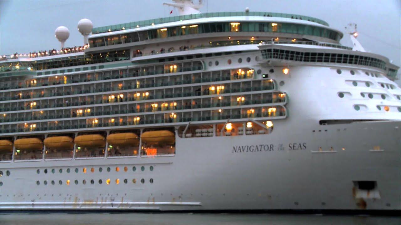 Navigator Of The Sea Cruise Ship Leaving Galveston Including A - Galveston cruises 2015