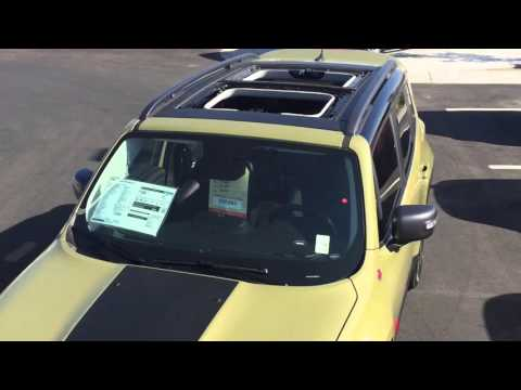 Jeep Renegade My Sky Sunroof Demonstration