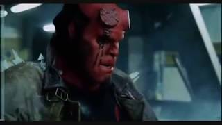 Hellboy hellhound fight