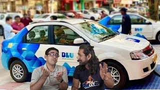 BluSmart Electric Car Taxi in Delhi-NCR