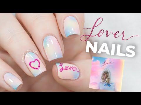 Lover Taylor Swift Nails | NailsByErin