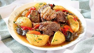 Without water and without oil - BASMA Stew. Special recipes