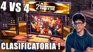 MADRUGADA DE FREE FIRE ! CLASIFICATORIA Y 4 VS 4 SALAS DE DIAMANTES ALEJOPLAY EN DIRECTO !