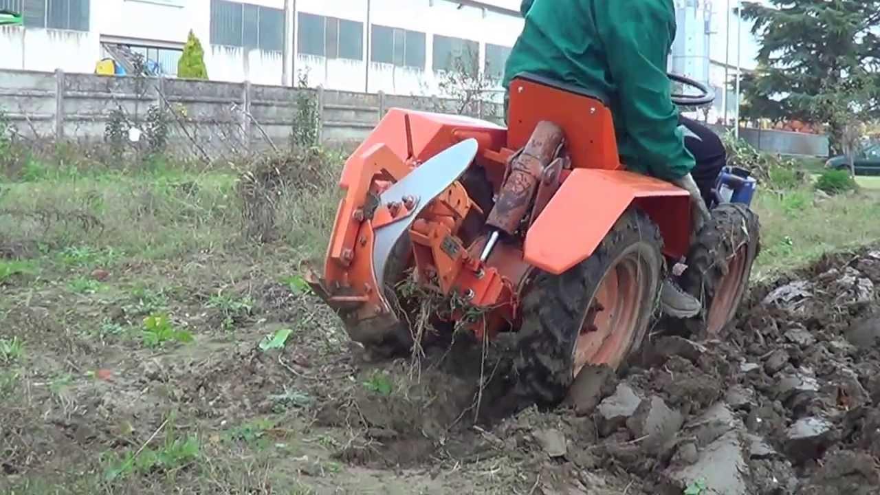 aratura con trattorino Pasquali HP 10  parte 2  YouTube