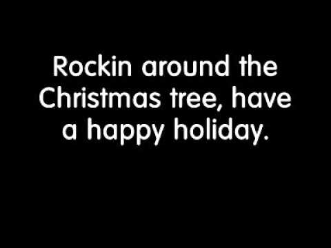 Brenda Lee Rockin' Around the Christmas Tree Lyrics - YouTube