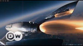 Turistik uzay seyahatine bir adım daha - DW Türkçe