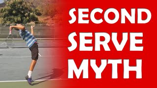 Second Serve Myth | SERVE TIPS
