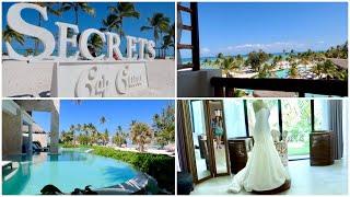 Secrets Cap Cana Resort Tour and Room Tour! Punta Cana Vlog - Dominican Republic Vacation!