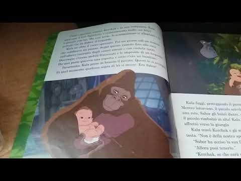 Disney Read Along Italian Tarzan Parte 1 4 Youtube