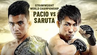 Joshua Pacio vs. Yosuke Saruta Headlines ONE: ETERNAL GLORY | The Best Of ONE Championship