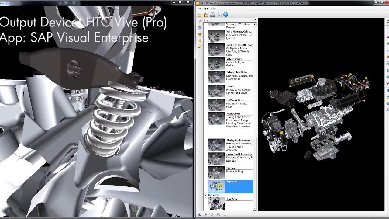 more3D moreViz VR Bridge NX Plant Simulation Process Simulate JT2Go Catia  Oculus HTC Vive Demo video