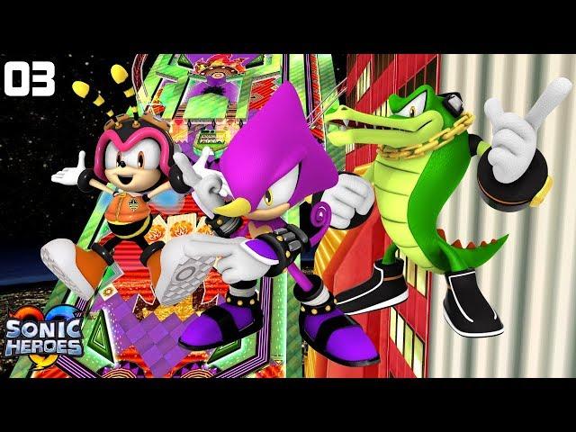 Sonic Heroes (GC) [4K] - Team Chaotix (3/7)