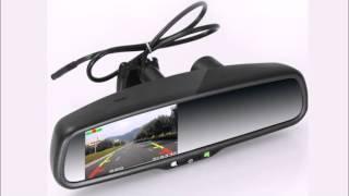 Зеркало заднего вида с gps навигатором и видеорегистратором - супер комбайн