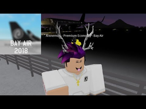 PREMIUM ECONOMY | Bay Air - A320 | ROBLOX