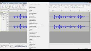 прослушать песню задом наперёд (реверс) с помощью Audacity