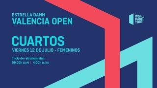Cuartos de final femeninos - Estrella Damm Valencia Open 2019 - World Padel Tour