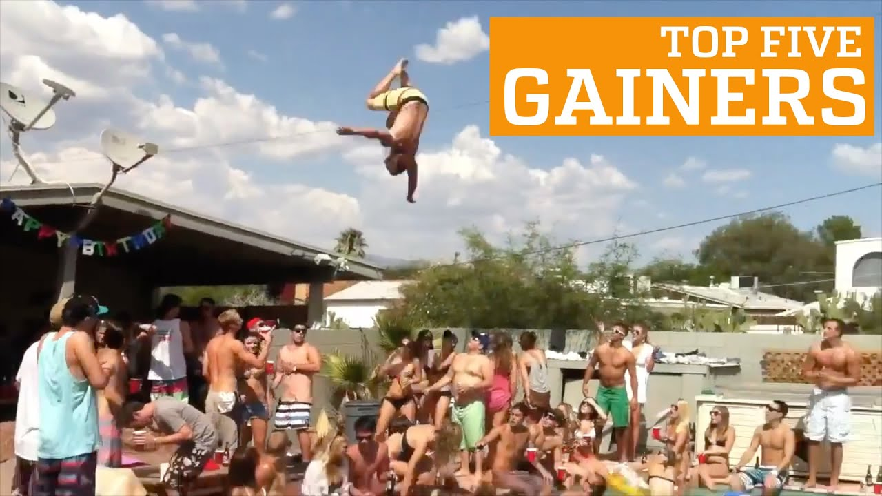 PEOPLE ARE AWESOME: TOP FIVE - GAINERS