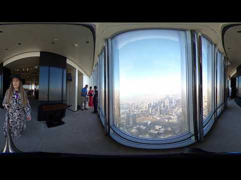 The Lounge sisätilat (154th floor), Burj Khalifa – Dubai – 360 | Ne Tammelat
