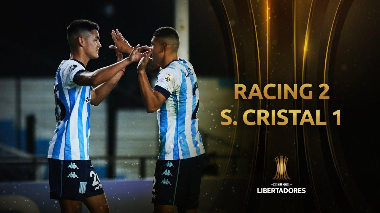 Racing vs. Sporting Cristal [2-1] | RESUMEN | Fecha 2 | CONMEBOL Libertadores 2021