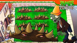 ⛔ ШИПАСТАЯ ДОРОГА ДЛЯ ЗОМБИ 🌵 ► Plants vs Zombies (Растения против Зомби) Прохождение