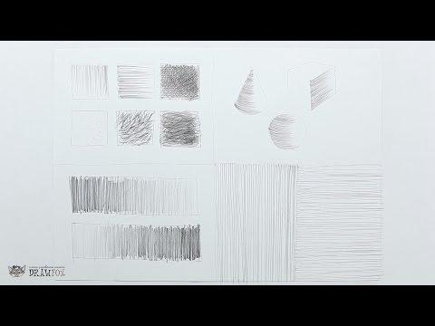 DrawFox. Рисунок карандашом для начинающих. Урок 1-1. Базовые техники и упражнения.