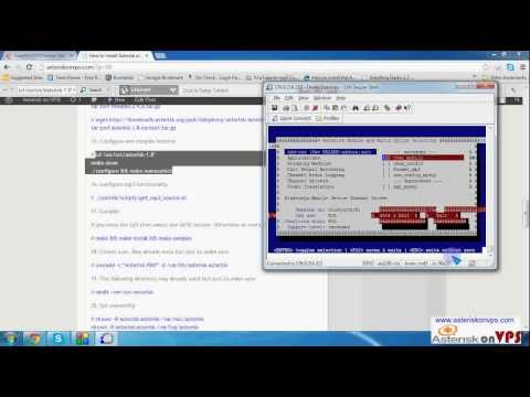 How to install Asterisk & FreePBX on OPENVZ VPS part 1