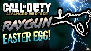 ADVANCED WARFARE: RAYGUN (CHALK) EASTER EGG CONFIRMED!!!