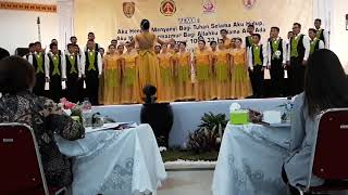 Paduan Suara Pemuda Remaja Lamandau dlm PESPARAWI XVI Tk. Prov KALTENG2017