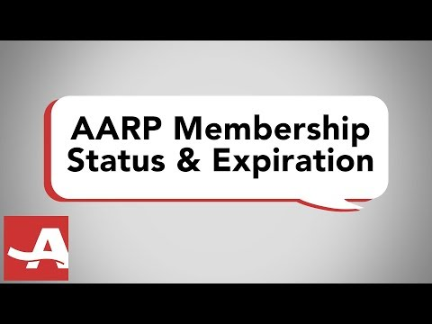 How to Check Your AARP Membership Status and Expiration Date from YouTube · Duration:  52 seconds