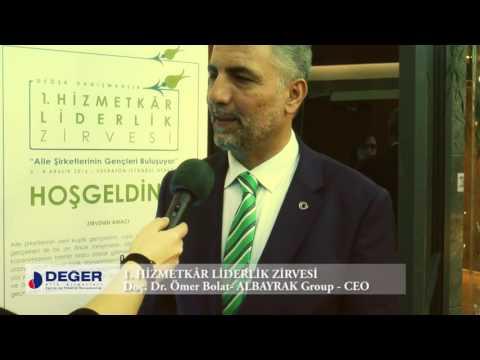 Doç. Dr. Ömer Bolat - 1. Hizmetkâr Liderlik Zirvesi Röportajı