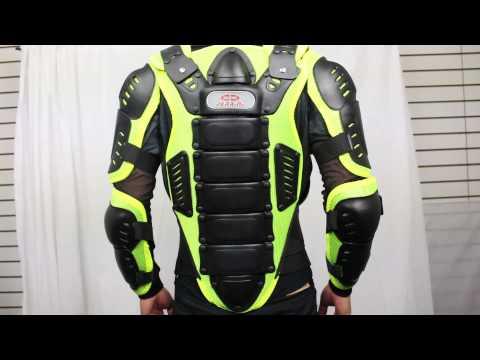 Green Motorcycle Jacket