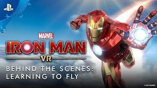 Marvel's Iron Man VR – Nos bastidores: aprendendo a voar | PS VR