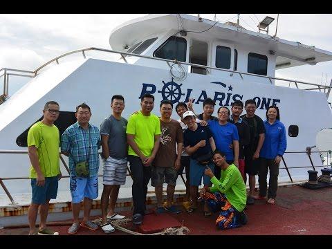 Burma Banks Offshore on Polaris One April 2017!