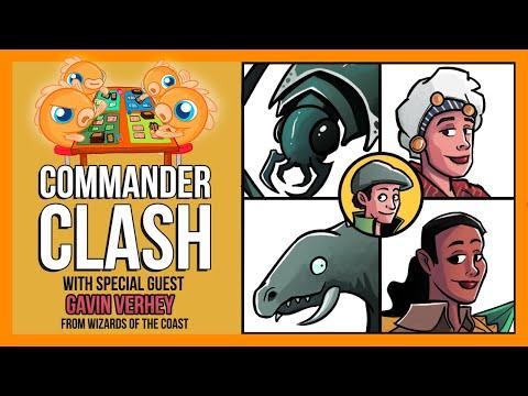 Commander Clash S8 E10: Commander 2020 w/ Gavin Verhey of Wizards of the Coast