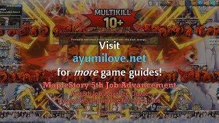Ayumilove MapleStory Ark (아크) 5th Job Advancement Guide