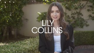 Lily Collins Opens Up About Her French Experience  LOFFICIEL