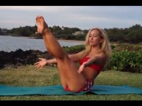 Yoga for Core Strength Bakasana  with Kino on Maui