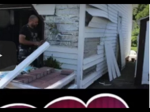 how to cut vinyl siding youtube