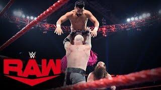 The Viking Raiders Vs The Singh Brothers Raw Jan 13 2020