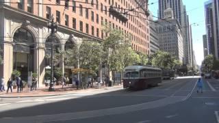 San Francisco PCC Streetcars