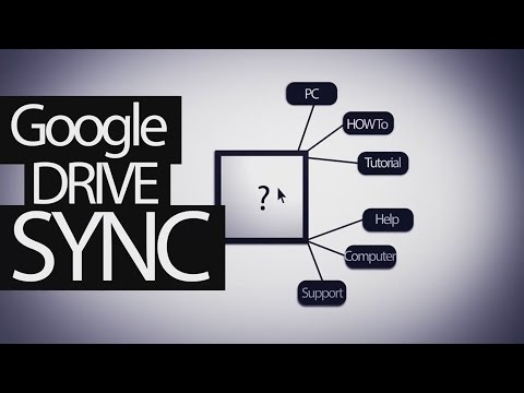Sync Files And Folders Outside Of Google Drive Youtube