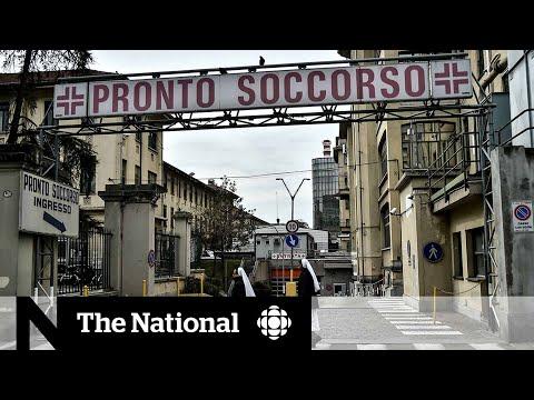 Italian hospitals in crisis over coronavirus outbreak