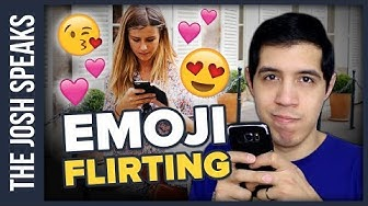 FLIRTING with EMOJIS and WHY Your Crush Sends You Them ??