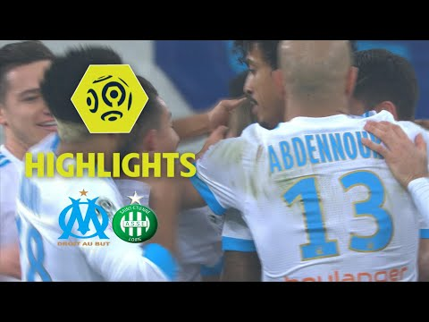 Olympique de Marseille - AS Saint-Etienne (3-0) - Highlights - (OM - ASSE) / 2017-18