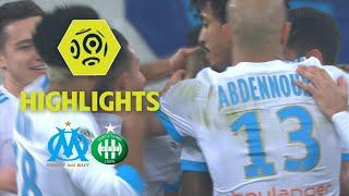 Olympique de Marseille - AS Saint-Etienne (3-0) - Highlights - (OM - ASSE) / 2017-18