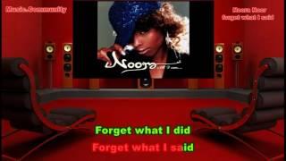 Karaoke - Noora Noor - Forget What I Said