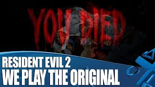 We Played The Original Resident Evil 2 And It Was Brutal!
