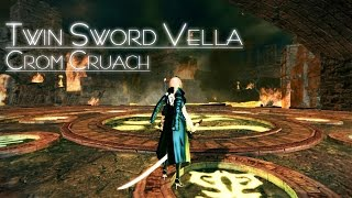 [Vindictus] Twin Sword Vella : Crom Cruach(80-90) Solo (Test server revamp)
