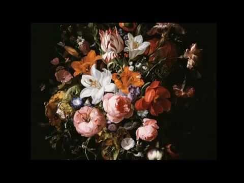 Women In Art Flowers In A Glass Vase By Rachel Ruysch