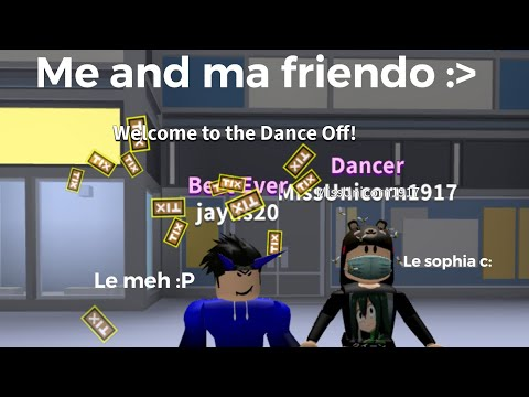 Roblox Dance Off Billie Eilish All The Good Girls Go To - roblox song id all the good girls go to hell free roblox